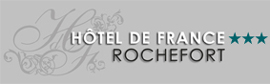 Hotel de France in Rochefort !