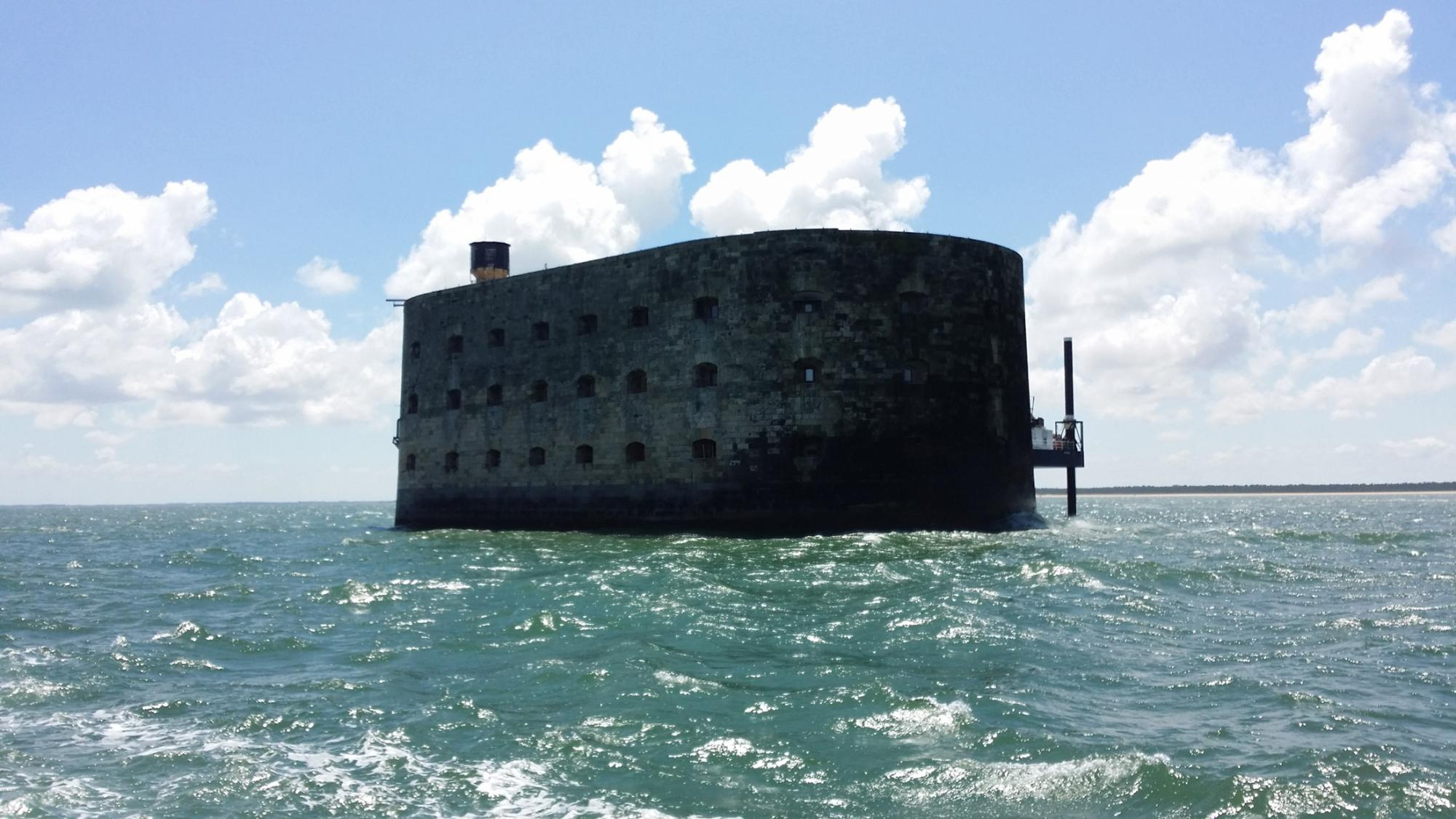 Fort Boyard - Historic site and monument - Aix island